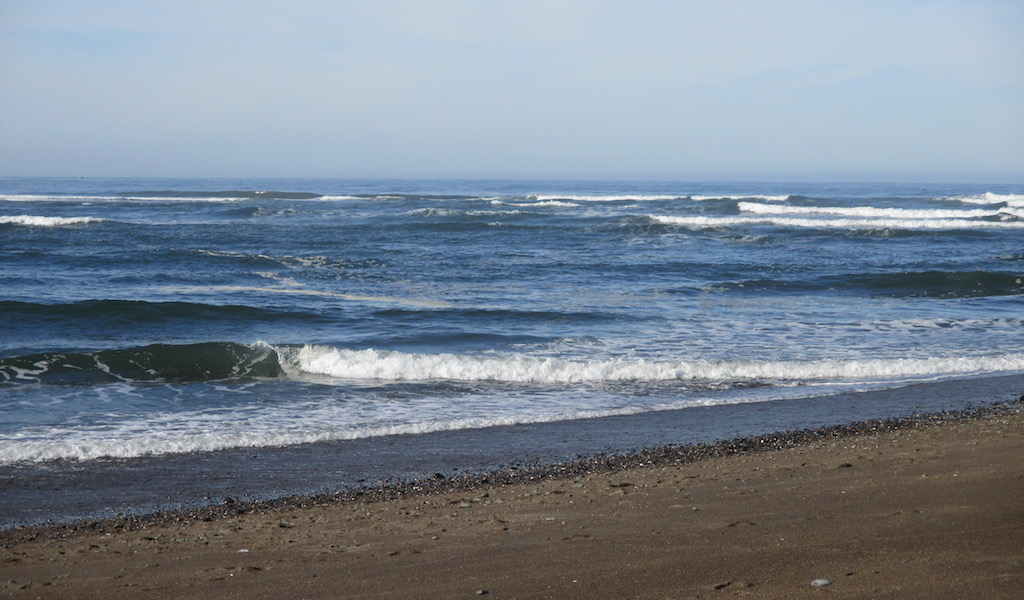 Pretty coast Oregon USA 2015