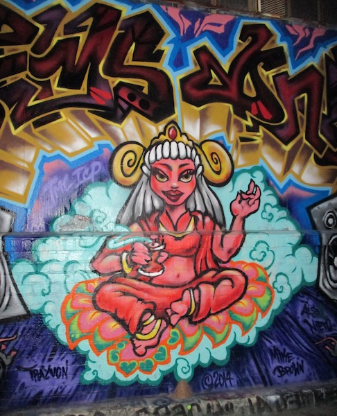 Street Art in the Mission San Francisco November 2014